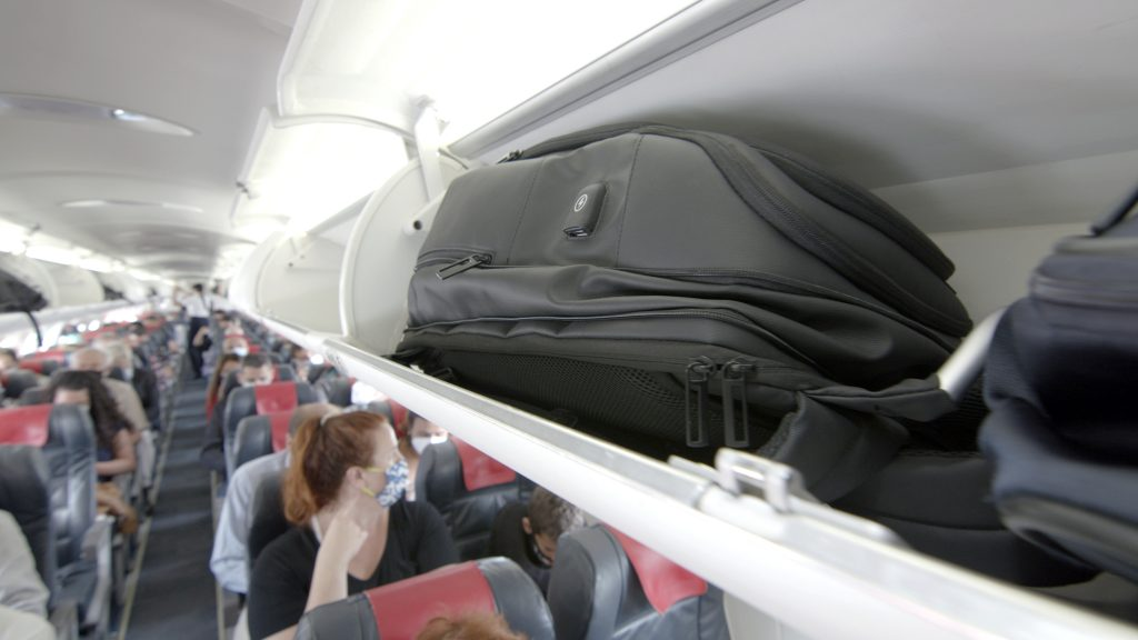Flight Approved Carry-On Backpack with USB Charging Port